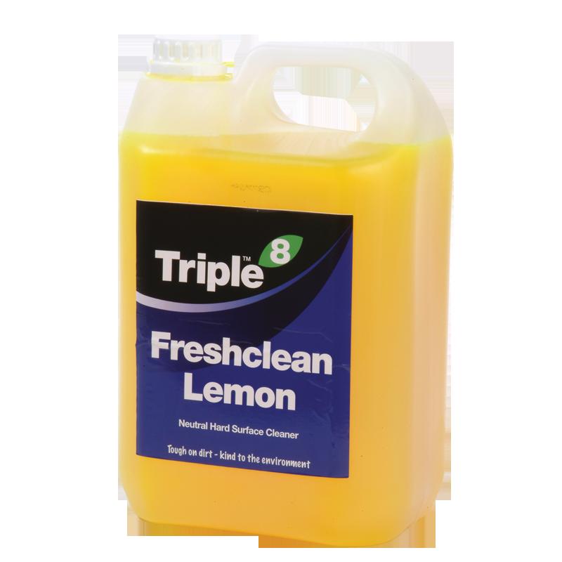 Triple 8 Freshclean Lemon Neutral Cleaner 5l
