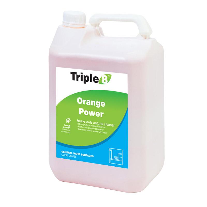 Triple 8 Orange Power Heavy Duty Cleaner 5l Industrial