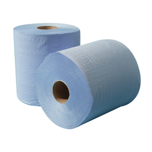 Centre Feed 2 ply blue standard 150m - 011231