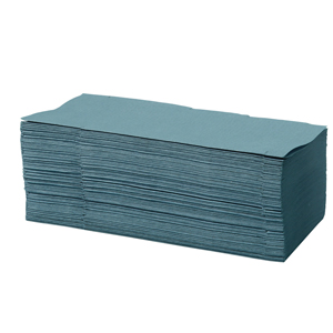 Interfold Towel 1 ply blue - 012530