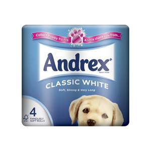 Andrex Classic Toilet Roll 2 ply white - 013400