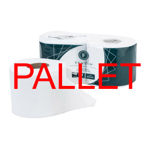 Pallet - Fenton® Toilet Roll 320 sheets 2 ply white, (36x66) - 013440P