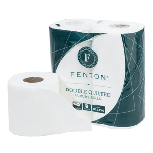 Fenton® Double Quilted Toilet Roll 2 ply white - 013450