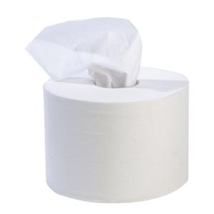 Centre Feed Toilet Roll 2 ply white - 013630