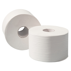 Micro Mini Toilet Roll 2 ply white, 120m - 013640