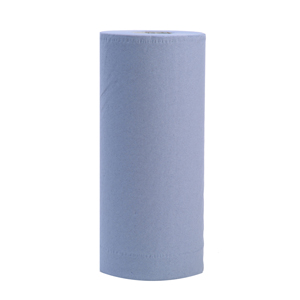 Hygiene Roll 25cm roll, 2 ply blue, 100 sheets - 015111