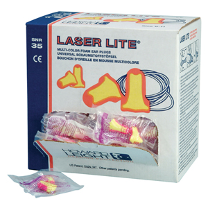 Laser-Lite Ear Plugs - uncorded (SNR35) - 048430