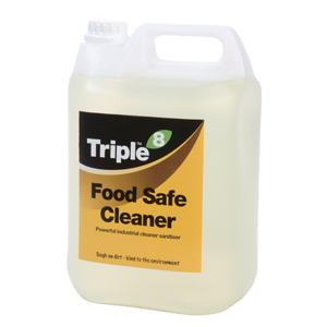 Triple 8 Food Safe Cleaner 5l Catering Chemicals