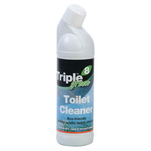 Triple 8 Green Toilet Cleaner 1L - 057301