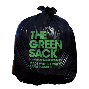 'Green' Black Sack 20kg - 071141