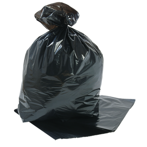 Square Bin Liner heavy duty black - 071201
