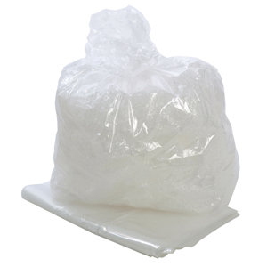 Square Bin Liner heavy duty clear - 071203