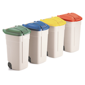 Mobile waste bin 100L only   Recycling Bins   Waste Management   Washroom  Consumables, Tisana Washroom System, Hand Towels, Toilet Rolls, Industrial  Consumables, Wiping Paper, Protective Wear, Skincare, Cleaning & Hygiene  Products