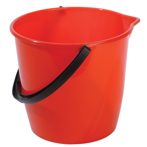 General Purpose Bucket 10L red - 074015