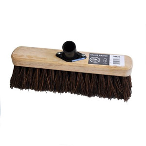 28cm Stiff Bassine Broom Head Only - 076020