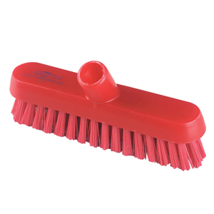 Deck Scrub Head - 23cm B928 Red - 078015