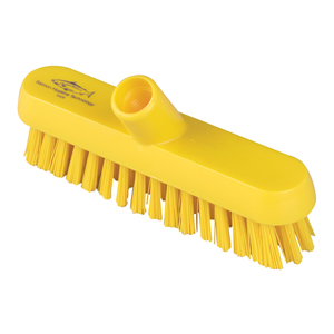 Deck Scrub Head - 23cm B928 Yellow - 078017