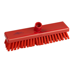 Deck Scrub Head - 30cm B759R red - 078025