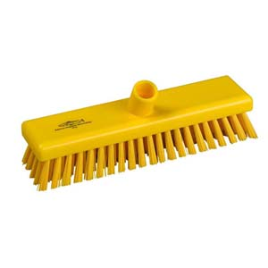 Deck Scrub Head - 30cm B759 Yellow - 078027