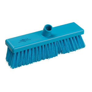 Hygiene Broom Head, medium - 30cm B758 Blue - 078032
