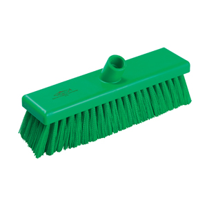 Hygiene Broom Head, medium - 30cm B758 Green - 078034