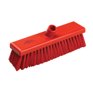 Hygiene Broom Head, medium - 30cm B758 Red - 078035