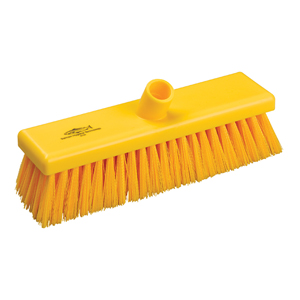 Hygiene Broom Head, medium - 30cm B758 Yellow - 078037