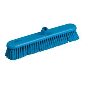 Hygiene Broom Head, medium - 46cm B809 Blue - 078042