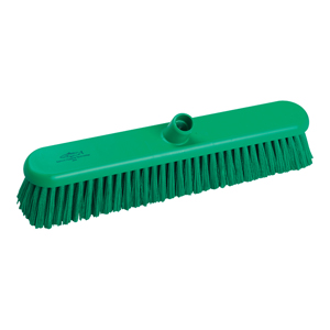 Hygiene Broom Head, medium - 46cm B809 Green - 078044