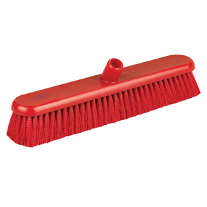 Hygiene Broom Head, medium - 46cm B809 Red - 078045