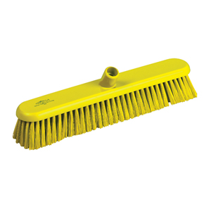 Hygiene Broom Head, medium - 46cm B809 Yellow - 078047