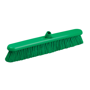 Hygiene Broom Head, medium - 61cm B883 Green - 078054