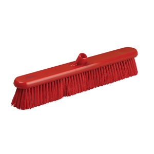 Hygiene Broom Head, medium - 61cm B883 Red - 078055
