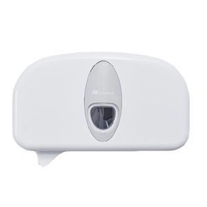 Coreless toilet roll dispenser white - 091076