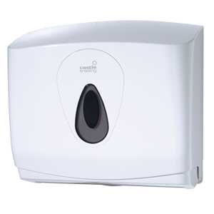 Compact Dispenser for hand towels white - 092076