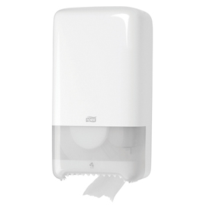 Tork 557500 Dispenser for Elevation Toilet Roll, white - 092156